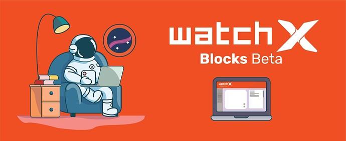watchX Blocks